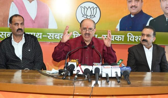 कांग्रेस पार्टी ने कन्हैया कुमार जैसे टुकड़े-टुकड़े गैंग के सरगना को स्टार प्रचारक बना अपने पांव पर खुद ही कुल्हाड़ी मार दी -गणेश दत ने कहा