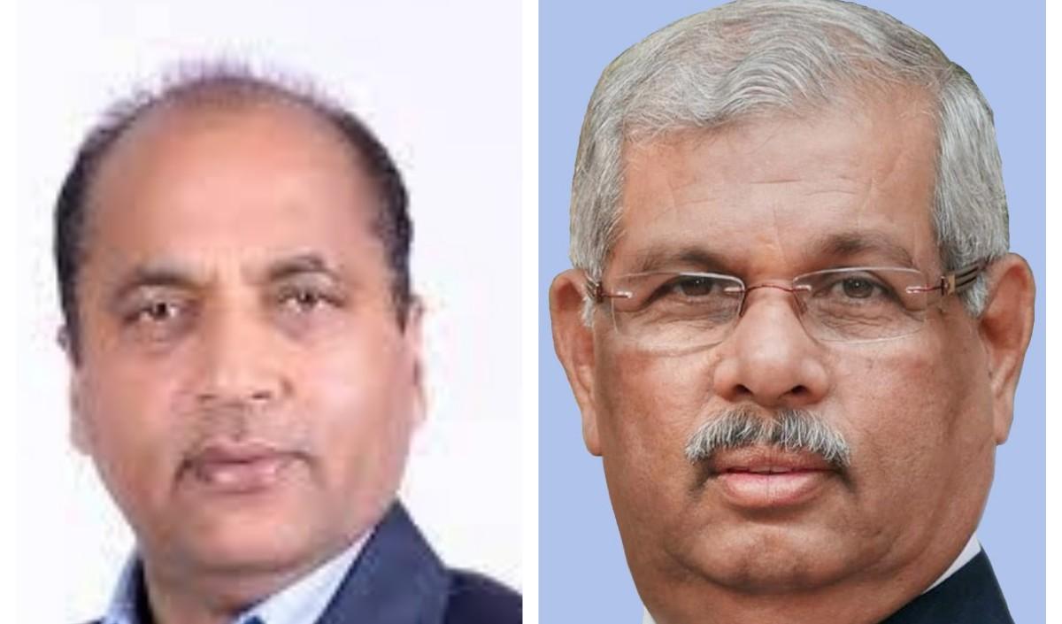 राज्यपाल आर्लेकर और मुख्यमंत्री जय राम ठाकुर ने दी करवाचौथ की बधाई