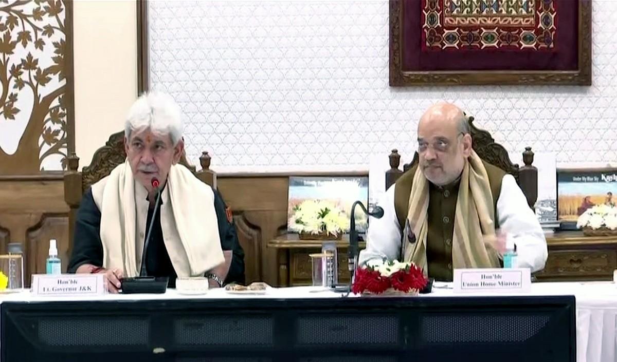 Prabhasakshi's Newsroom । बढ़ते आतंकी हमलों के बीच अमित शाह ने सुरक्षा हालात की समीक्षा की