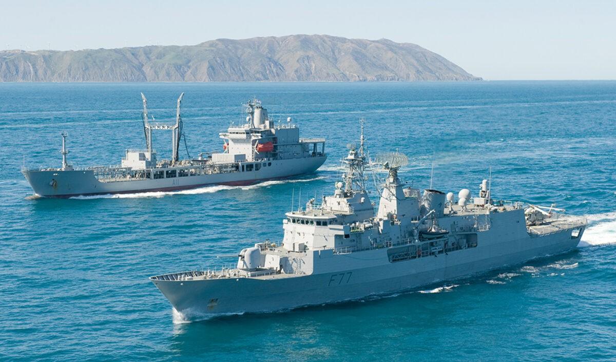 अरब सागर में भारत और ब्रिटेन की सेना के तीनों अंगों का विशाल युद्धाभ्यास